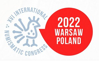 2022 International Numismatic Congress Warsaw logo