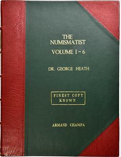 The Numismatist. Volumes 1-6