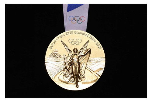 2020 Olympic medals front
