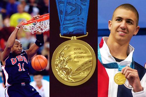 Olympic medal sellers
