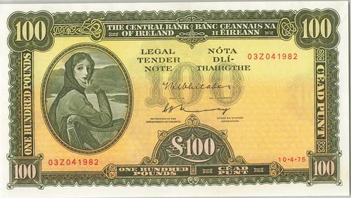 1979 Ireland Lady Laverly 100 Pounds