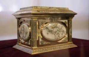 Andrews gold-rush era jewelry box