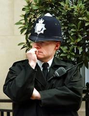 British copper policeman