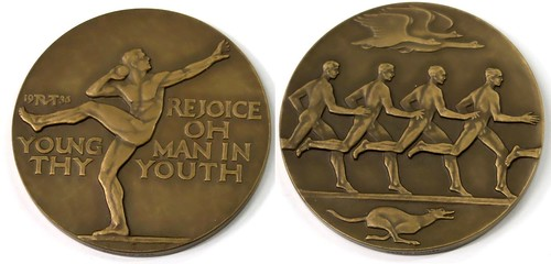Speed and Strength Medal