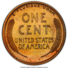 1913 Lincoln Cent reverse