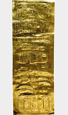 1960s Vietnam Gold Wafer Money reverse
