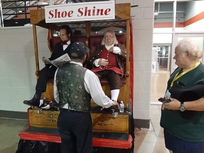ANA 2021-08-13 Shoe Shine 3 Abe Lincoln Ben Franklin