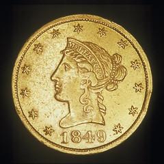 1849 Moffat $10 (obverse)