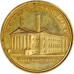 1897 Tennessee Centennial Exposition Medal obverse