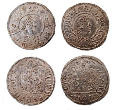 Coins from siezed Viking Coin Hoard