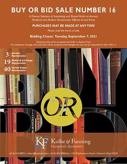 KF Buy or Bid Sale 16 cover