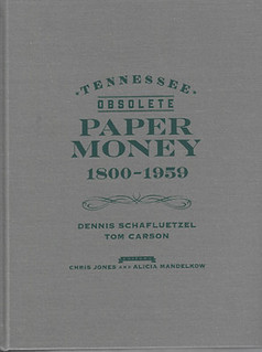 Tennessee Obsolete Paper Money book cover