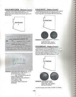 2021 Arizona trade Tokens sample page 1