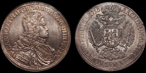 Austria Charles VI Taler