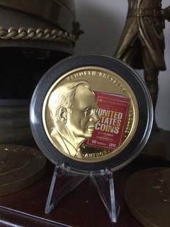 Rittenhouse Society Ken Bressett medal