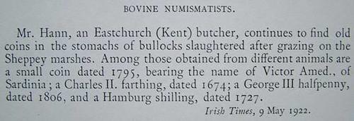 Bovine Numismatists