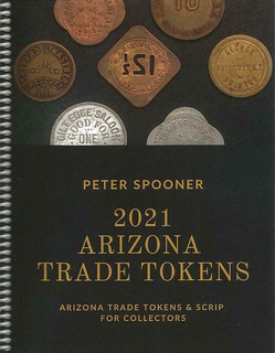 2021 Arizona trade Tokens book cover