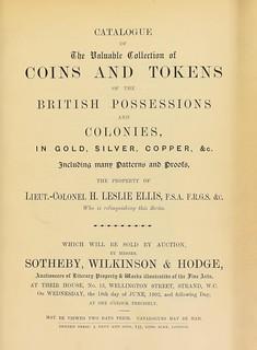 Sotheby 1902 Ellis sale cover