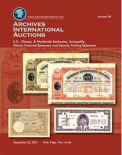 Archives International Sale 70 cover front