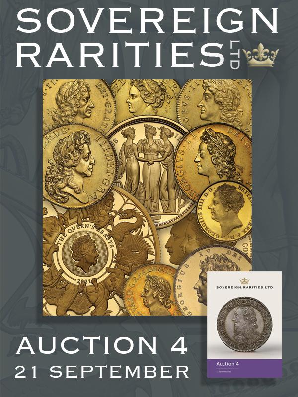 Sovereign Rarities E-Sylum ad Auction 4