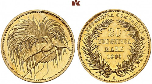 1895 German New Guinea Mark