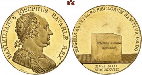 Bavaria Maximilian Joseph 8 Ducats