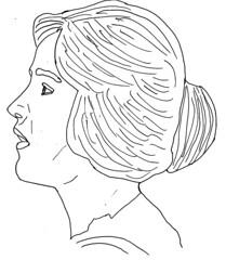 Teresa de Francisci sketch
