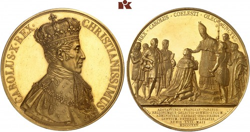 Charles X Coronation Medal