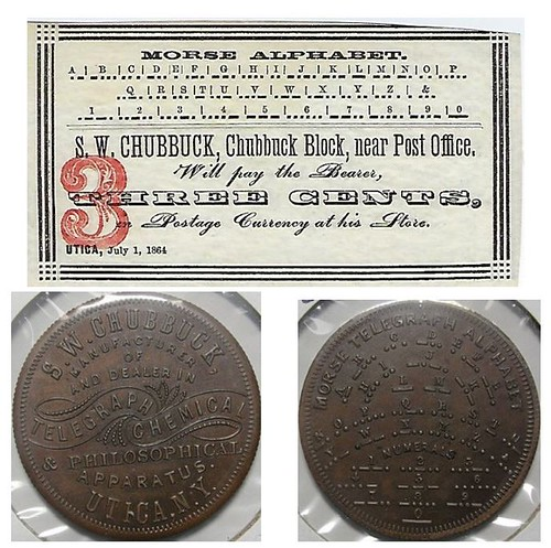 Chubbock scrip and token