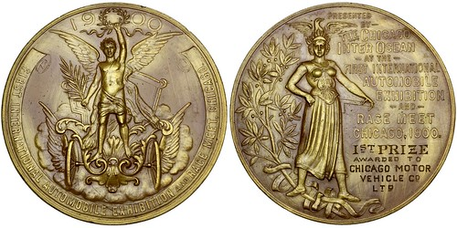 Chicago Motor Vehicle Company Prize Medal
