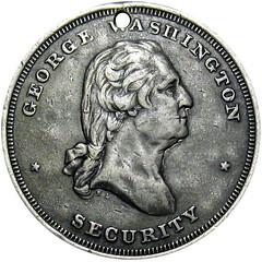 1862 Civil War Soldier Washington ID Dog Tag A. C. Smith obverse