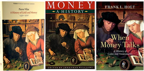 The Money-lender and his Wife book covers