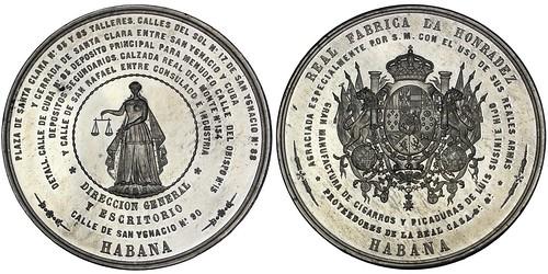 Cuba Tobacco Factory Medal