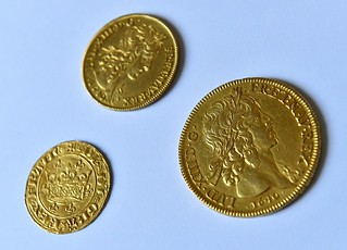 Louis d'Or gold coins