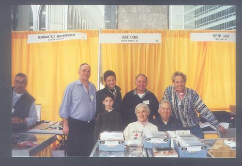 World Trade Center coin show booth