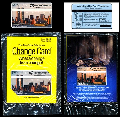 Workd Trade Center telephone cards