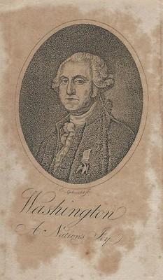Christian Gobrecht Engraving of Washington