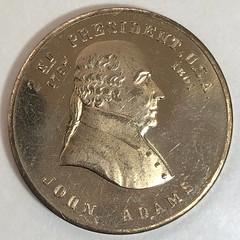 Numismatic Scrapbook contributor token obverse
