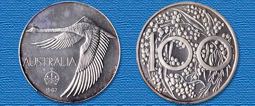 1967 Australia pattern dollar