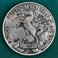 1924 Kent Automotive Club Speed Trials Medal obverse