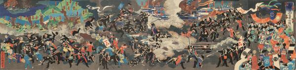 01Battle-of-Toba-Fushimi-Government-Victory-Shokosai-Kunihiro-1868