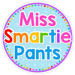 Miss Smarty Pants button