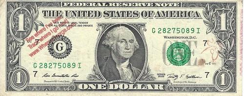 Where's George Dollar Face