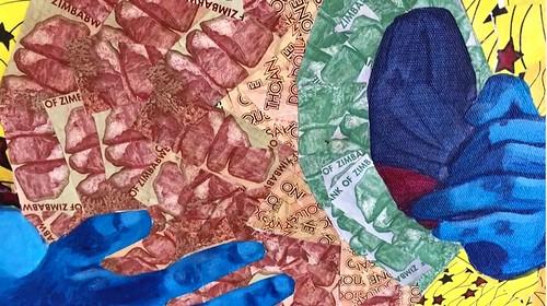 Prudence Chimutuwah Zimbabwe Banknote art 2