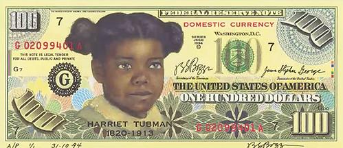 Boggs Tubman note