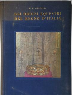 Gli Ordini Equestri Del Regno D'Italia book cover