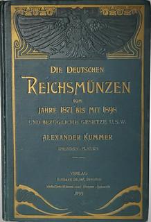 Die Deutschen Reichsmünzen book cover