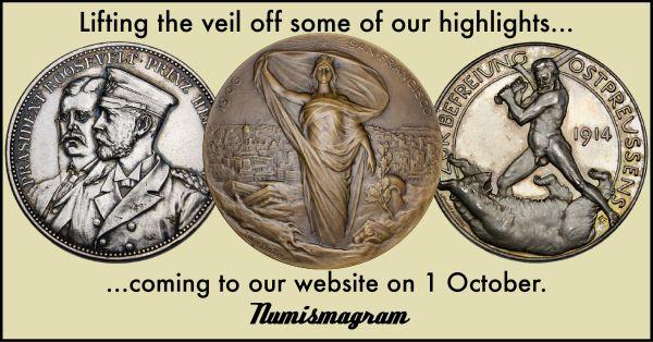 E-Sylum Numismagram ad47 October 2021