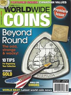 Premiere Issue Worldwide Coins magazine