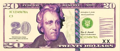 Pearson $20 face